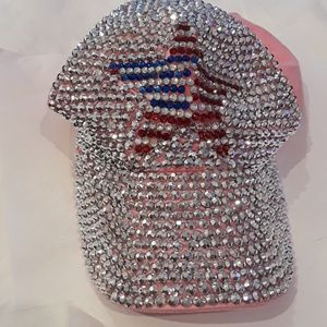 Other - Beautiful sparkly baseball hat NWOT.